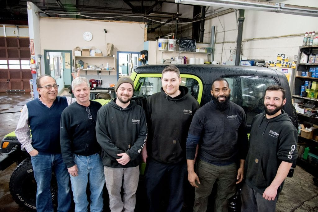 Good News Garage Staff and Mechanics