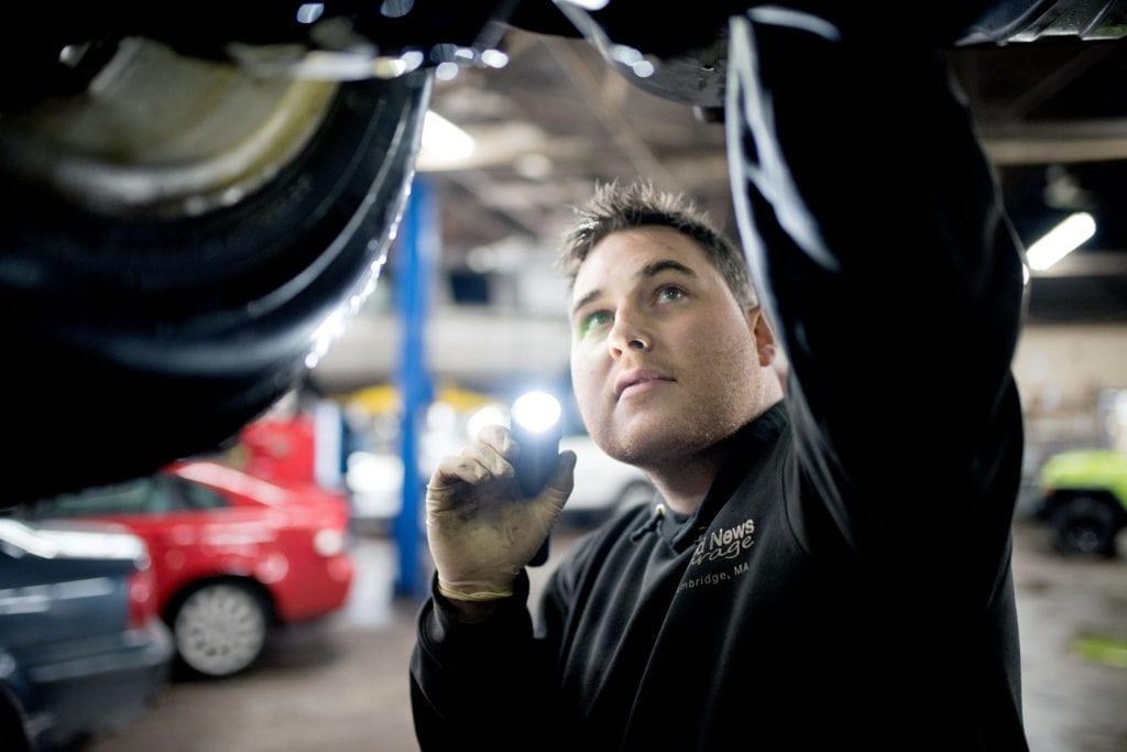 Good News Garage vehicle care specialist